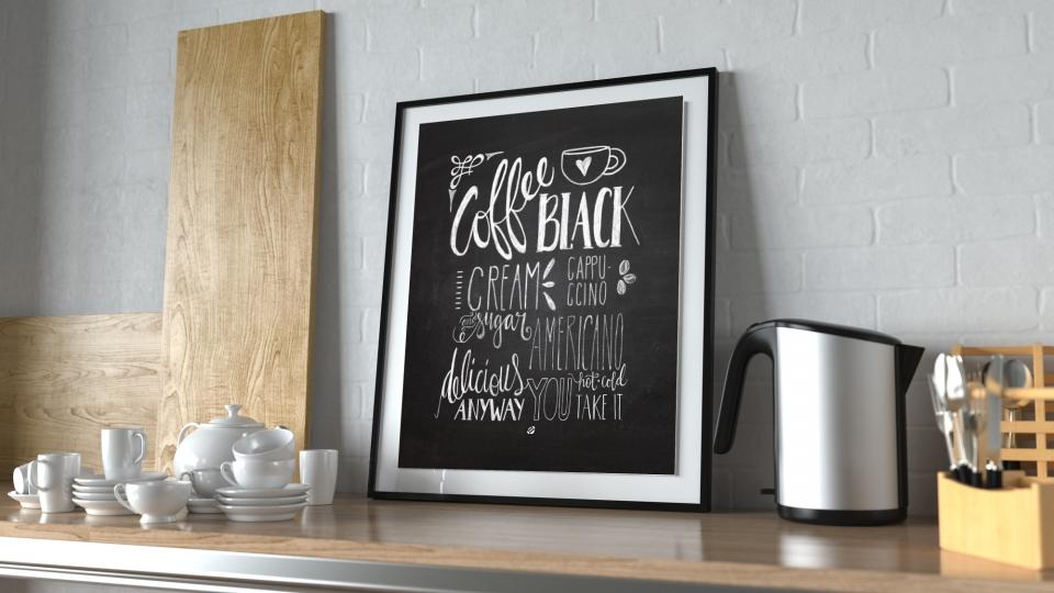Free Printable Poster Untuk Mempercantik Dapur